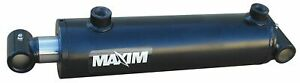 Maxim Double Acting Welded Hydraulic Cylinder 2 1 2 Bore Dia in 18 Stroke