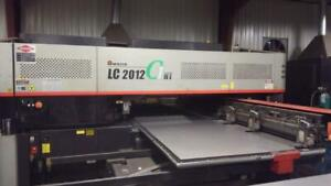 Amada Lc2012 C1 Nt Punch laser Combo 22ton Cnc Turret Punch New 2009 Rm