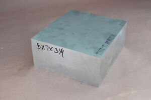 6061 t651 Aluminum Block 3 25 Thick 7 Wide 8 Long