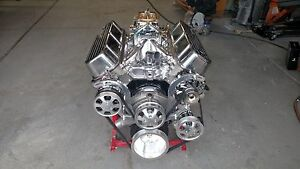 Bbc Serpentine Kit Complete With Ac All Chrome And Aluminum Compare To March