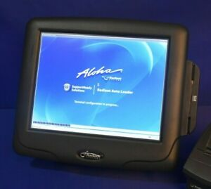 Radiant Systems P1515 Pos Touch Screen Terminal Aloha ncr W warranty