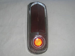 Vintage 1949 1950 Oldsmobile Tail Light Assembly Trunk Light