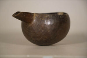 Stunning Senufo Cup With Spout 4 Ivory Coast African Art