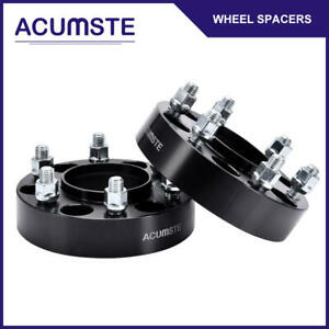 2pcs Black 1 5 Thick 6 Lug 6x135 Wheel Spacers For Ford F 150 Raptor Expedition