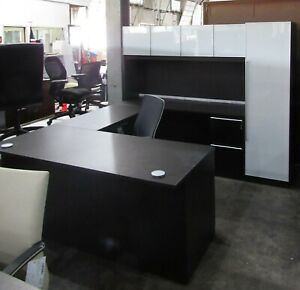 Verde Veneer U Shape Desk