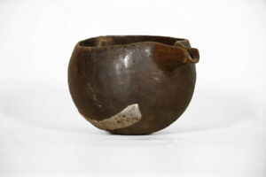 Curious Senufo Cup With Spout 5 Ivory Coast African Art