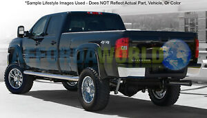 00 02 Toyota Tundra W o Stepside Bed Extend a fender Flares Front rear Set Black