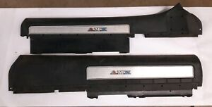 Amc 1971 1974 Amx Interior Upper Door Panels Trim Emblems Rare Pair J15847