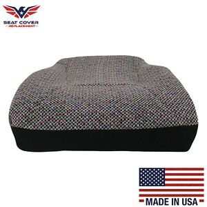 1998 2002 Dodge Ram 1500 2500 3500 Slt Bottom Cloth Seat Cover Agate Dark Gray