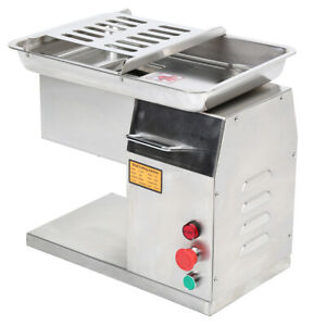 Restaurant Meat Cutting Machine Meat Grinder Cutter Slicer 250kg h Output