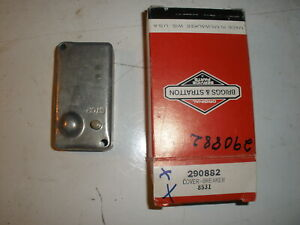 Vintage Nos Briggs Stratton Gas Engine Breaker Cover 290882