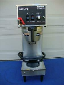 Bunn Tf 23050 0011 Commercial Coffee Maker Single Brewer 120 240v 4300w