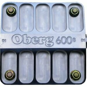 Zmax 6060 600 Series Oil Filter 6 Billet Aluminum 12an O ring Ports With 60 Mic
