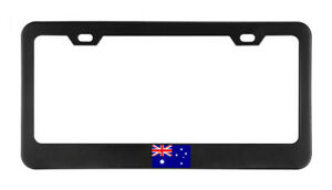 Australia Flag Country American Flags License Plate Frame Tag Holder Bumper