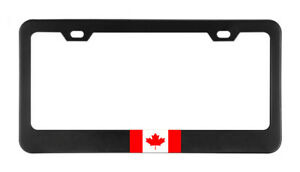 Canada Flag Country American Flags Foreign License Plate Frame Tag Holder Bumper
