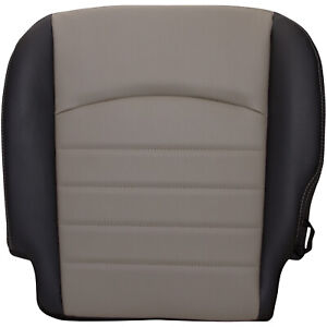 2009 2012 Dodge Ram St Driver Bottom 40 Portion Vinyl Seat Cover Two Tone