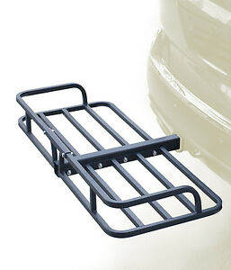 48 Hitch Mount Cargo Carrier Rack Cargo Basket 500lb Capacity Luggage Camping