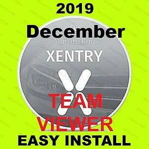 V2019 12 Mb Sd Pass Thru Software Star Obd2 Diagnosis For Mb Xentry Teamviewer