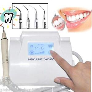 Dental Ultrasonic Piezo Scaler Scaling System W Handpiece Fit Ems Touch Screen