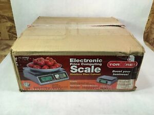 Torrey Lpc 40l 40 X 0 01lb Stainless Steel Electronic Price Computing Scale Ps