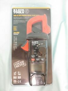 Klein Cl600 600a Ac Auto ranging Digital Clamp Meter