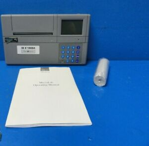 Micro Medical Microlab 3500 Spirometer W Carrying Case printer Paper 18084