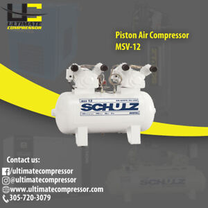 Air Compressor Piston Oiless 2hp Single Phase 110 220v