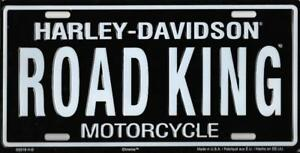Harley Davidson Road King License Plate