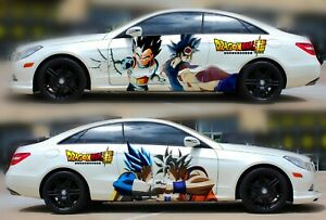 Goku Anime Dragon Ball Super Car Door Vinyl Sticker Graphics Decal Fit Any Auto