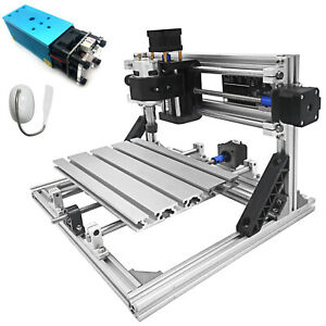 3 Axis Cnc Router Kit 2418 2500mw Ttl Usb Port 2020 Aluminium Profiles Us
