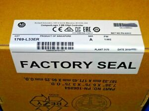 2019 Factory Sealed Allen Bradley 1769 l33er a Compactlogix 2mb Processor