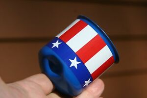 Sun 2 5 8 Blueline Greenline Gauge Cup Vintage Custom Stars Stripes Blue