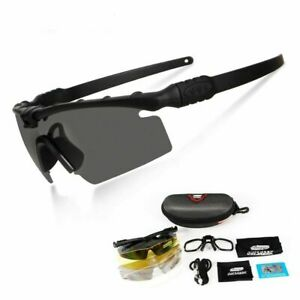 Army Protection Polarized Glasses Paintball Shooting Airsoft with Myopia Frame $29.95