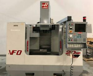 Haas Model Vf 0 Vertical Machining Center With Haas Control 20 X 16 X 20