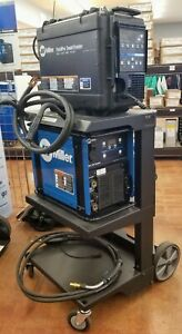 Miller Pipeworx 350 Fieldpro With Fieldpro Smart Feeder And Cart Package