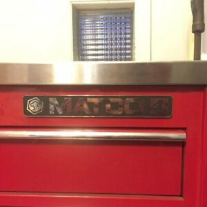 Matco Tools 4s Toolbox 4325r Stainless Steel Top W Side Locker