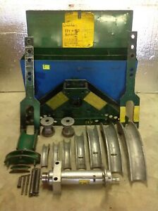 Greenlee 885 Hydraulic Rigid Pipe Conduit Tube Bender 1 1 4 5 884 7153
