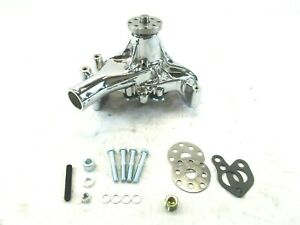 Sbc Chrome Water Pump In Stock | Replacement Auto Auto Parts Ready