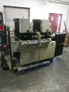 Ryobi 3302m Offset Printing Press With Super Blue In Delivery