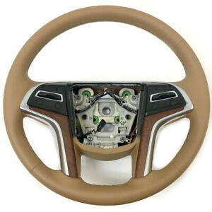 Cadillac Gm Choccachino 2015 2018 Escalade Esv Steering Wheel 23360993 23197783