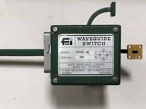 Fmi Flann Microwave Instruments 22333 2e Waveguide Switch 22130 10 x2 22170