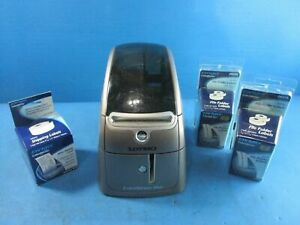 Dymo Label Writer Duo Model 93105 Ubs Thermal Label Printer With Labels