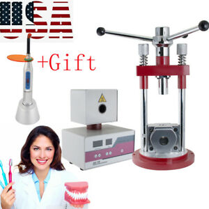Dental Flexible Denture Machine Dentistry Injection Partial System Tool gift Fda