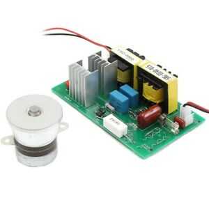 Ultrasonic Cleaning Transducer Cleaner 110vac 50w 40khz Power Driver Board H4k3