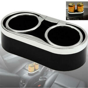Dual Adjustable Folding Drink Cup Holder For Boat Marine Car Rv Truck Suv Van