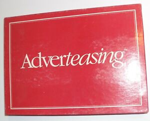 Adverteasing Board Game A Game of Slogans Commercials and Jingles $9.99