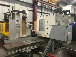 Milltronics Hmc70 Fanuc 18imb Cntrl Cnc Horizontal Machining Center New 2009