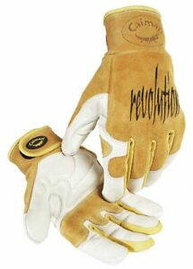 Caiman Welding Gloves Tig 9 M Pr Tan gold 1828 4 1 Each