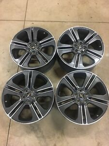 19 Ford Mustang 2013 2014 Factory Oem Rim Wheel 3908 b Gray Machined Set