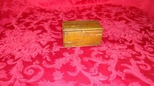 Antique Attachments Puzzle Box For Singer Treadle Sewing Machine Finger Joints
